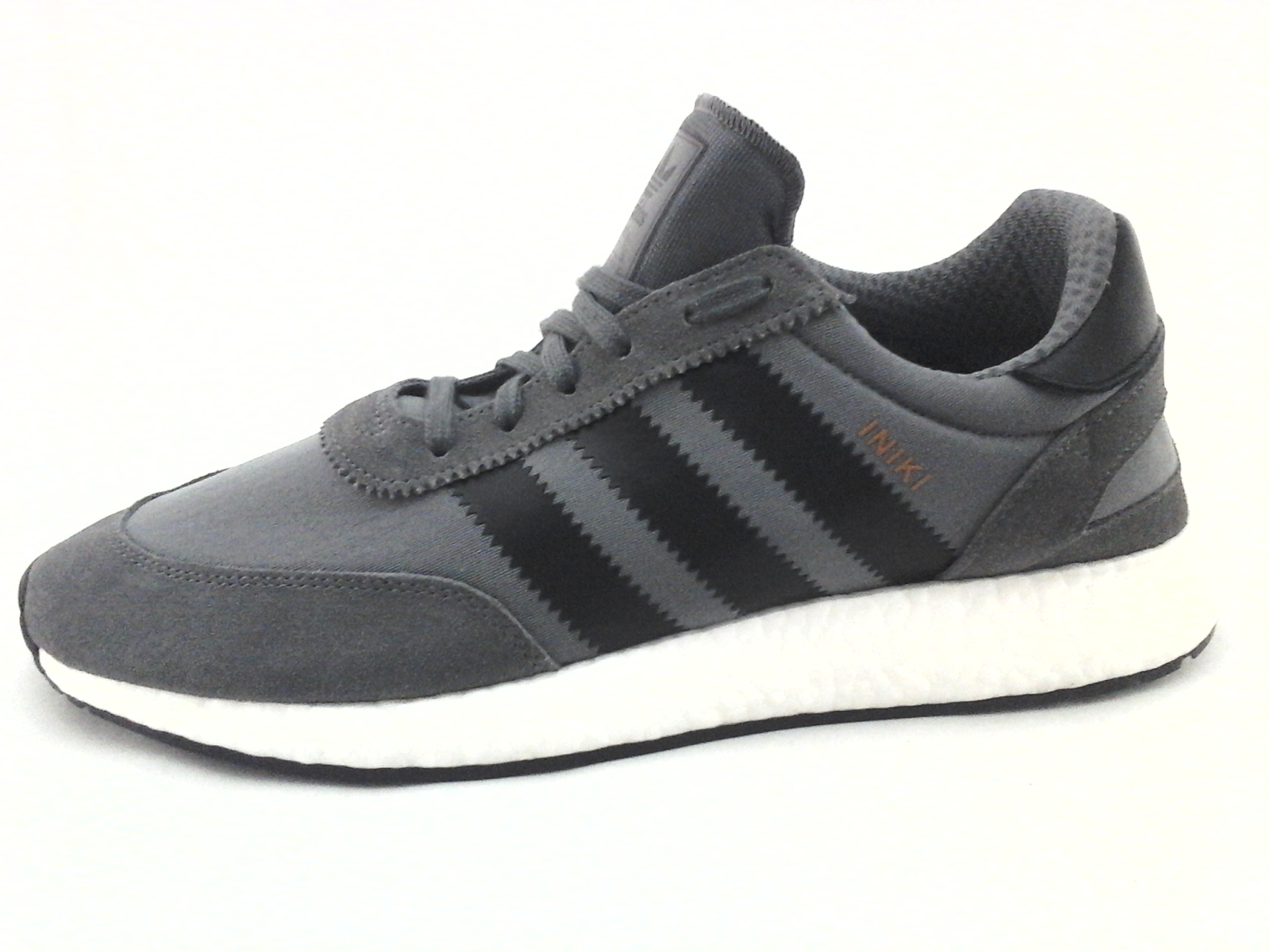 huge discount 6499d ebc5f ADIDAS Originals INIKI Boost Running Shoes Gray w Black BY9732 Men s US 13  EU 48