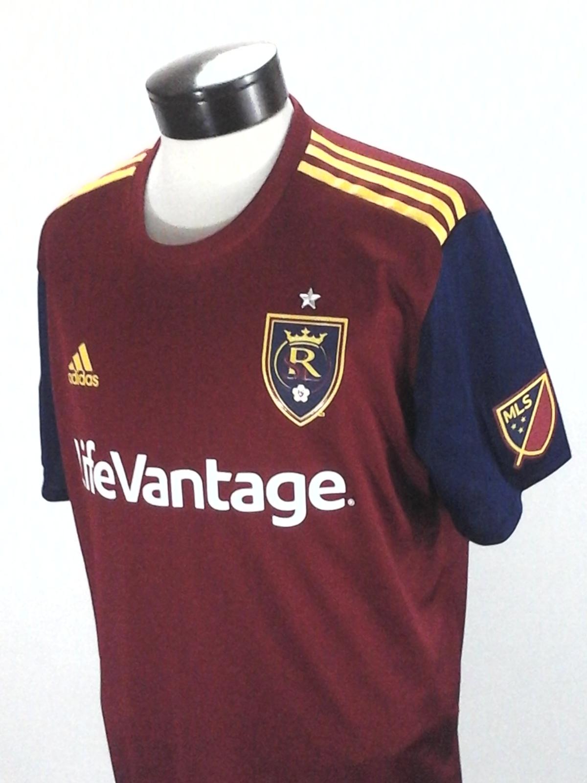 89d0ec0984e ADIDAS Real Salt Lake Official Jersey MLS Soccer Climacool CW3534 Mens XL  $120