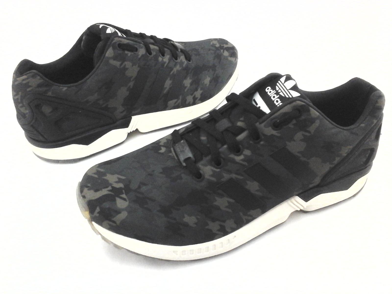 big sale e056e c6e0e ADIDAS Sneakers Torsion Green Camo ZX Flux B32742 Mens US 10.5 EU 44 23  RARE
