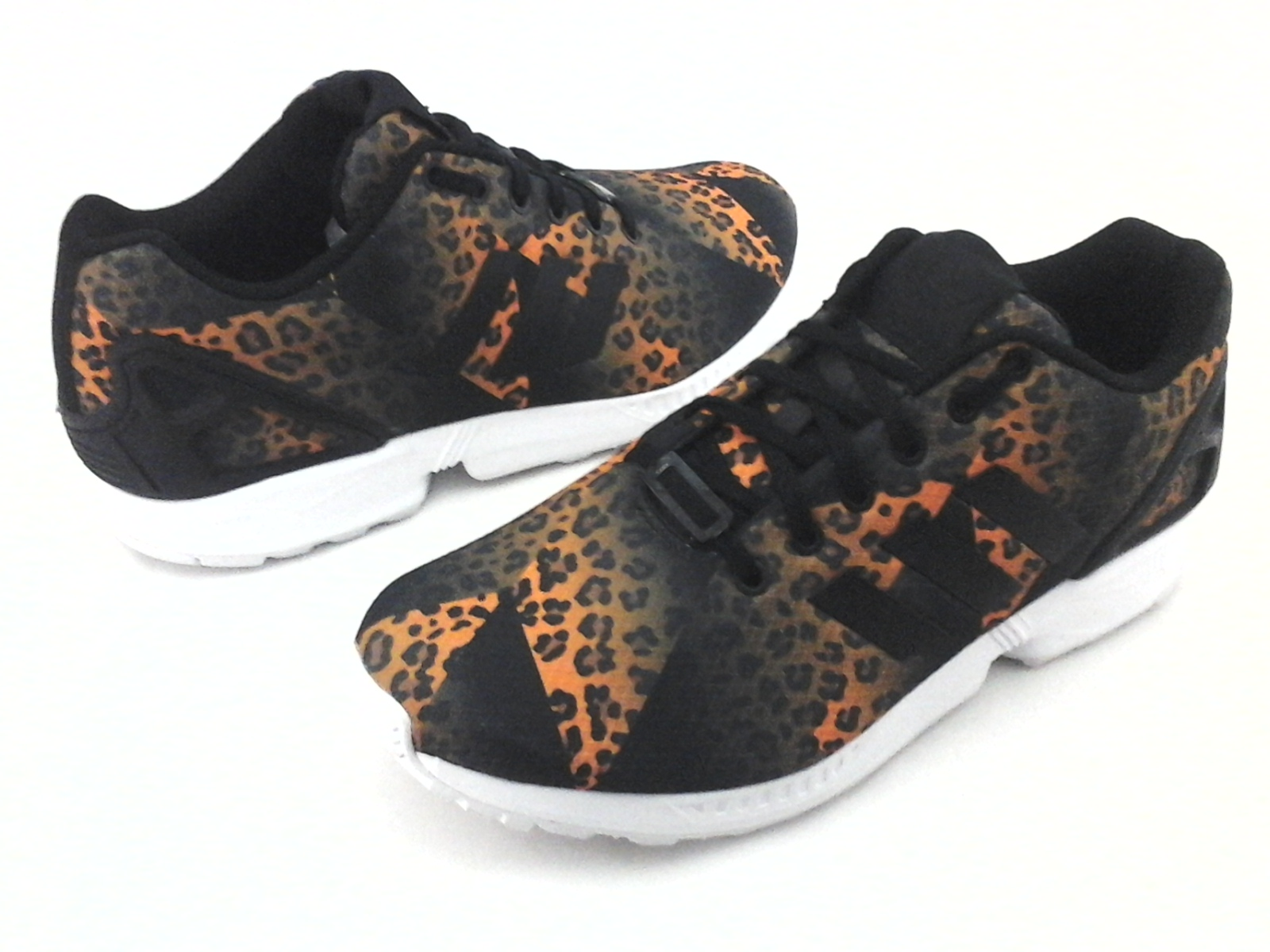 zx flux leopard print