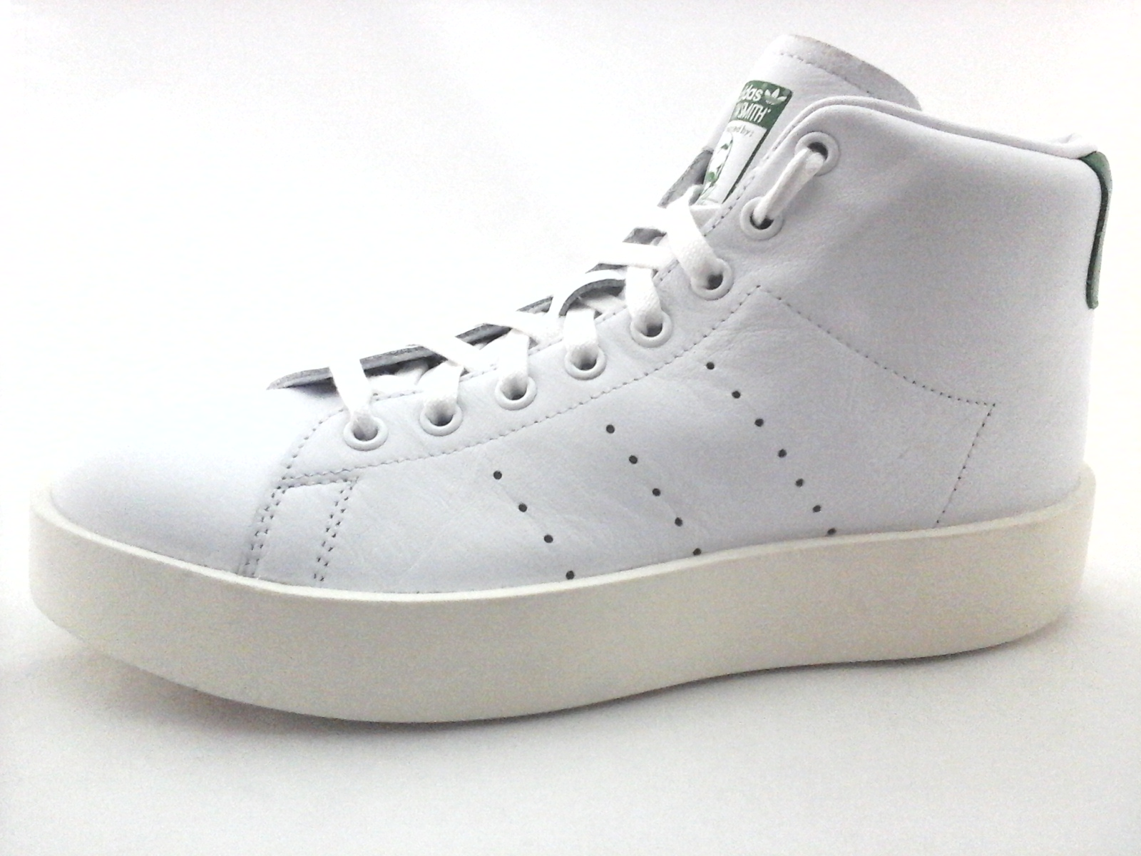 58a39e9edb0 ADIDAS Stan Smith Platform Bold Mid Shoes White Green Leather BY9663 Women s  New