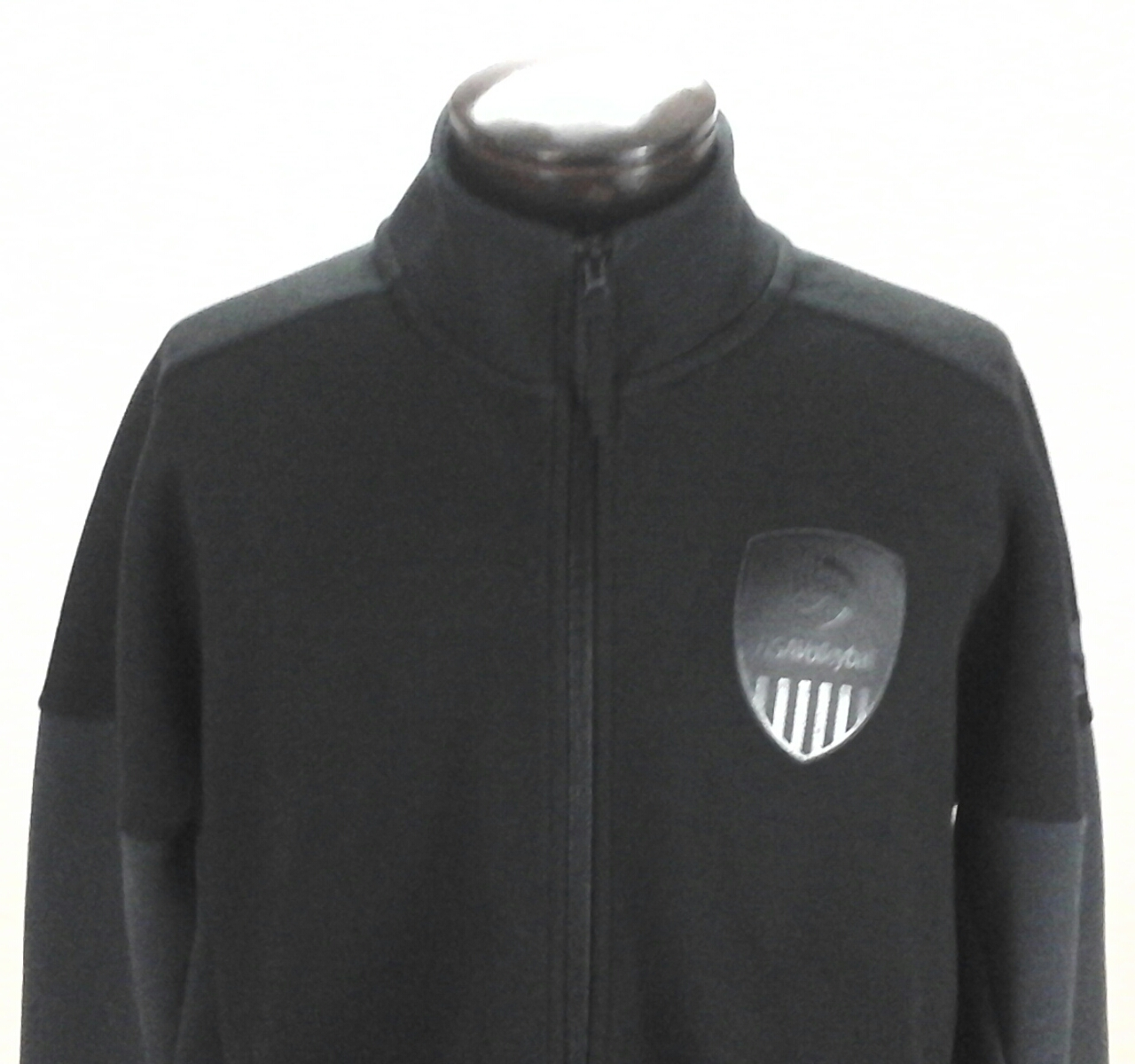 87a5986b699c ADIDAS USA Volleyball Jacket Zip Up Black w Gray Official CF1417 Men's New