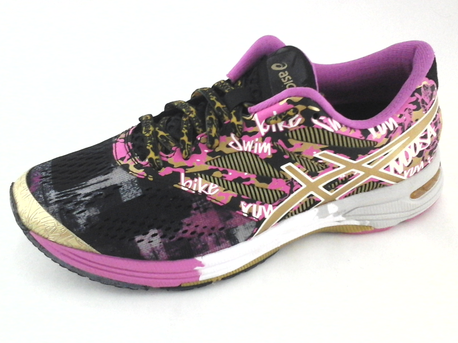 7e2b1be10f ASICS Gel Noosa TRI-10 T5M9N Breast Cancer Pink Gold Sneakers US 7 EU 38   160