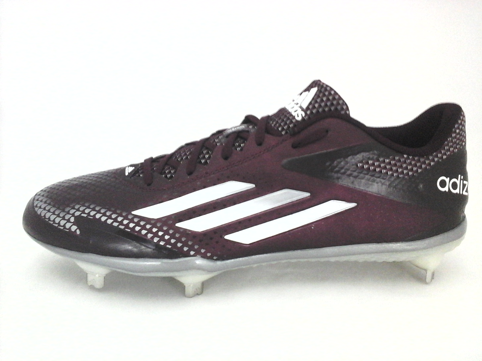 55eda2f72ea8 Details about ADIDAS ADIZERO Afterburner 2.0 Metal Baseball Cleats Maroon  S84705 Mens US 10.5