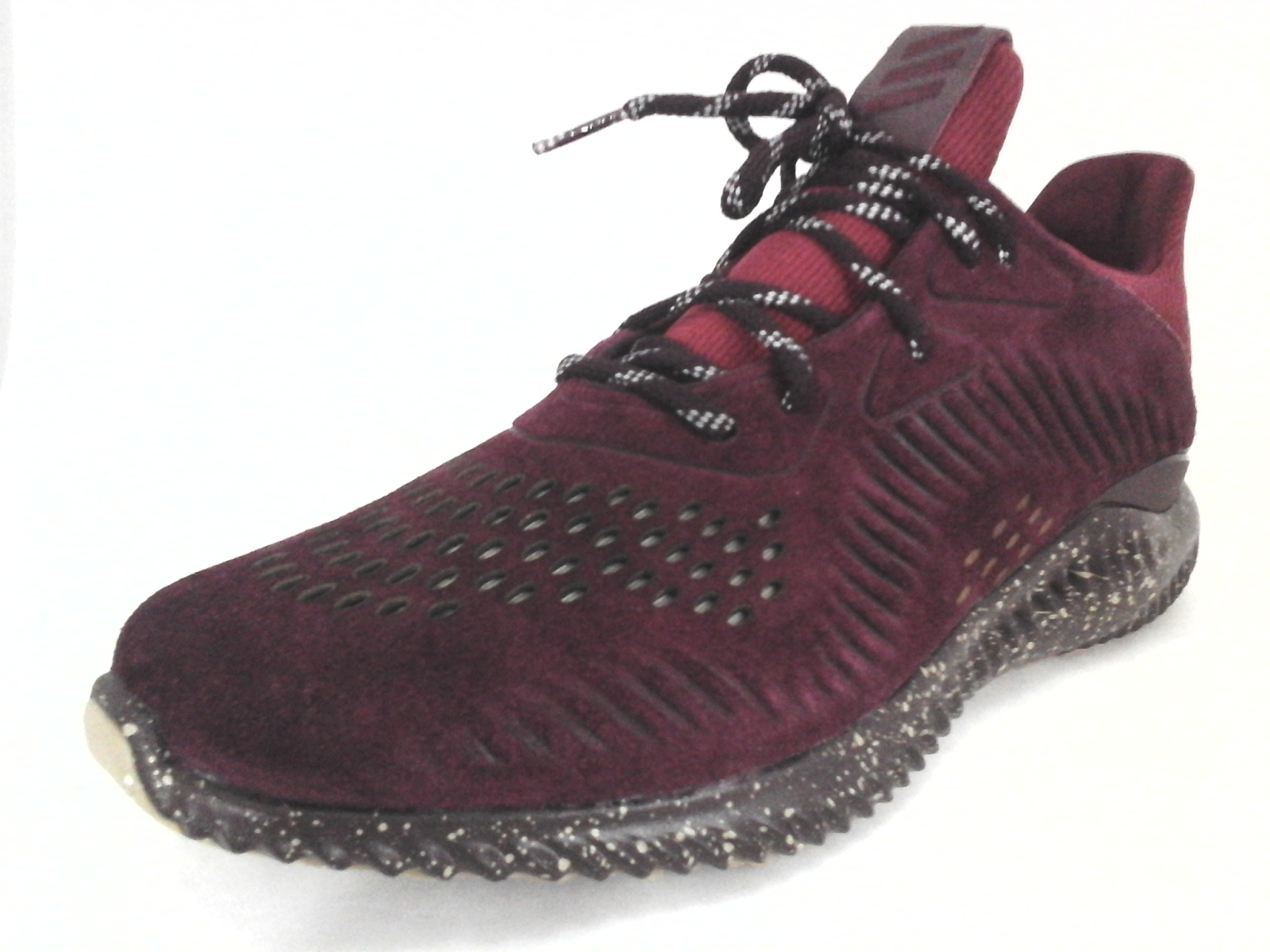 f973d27c361e7d ADIDAS Alphabounce Shoes Sneakers Maroon Red Suede CQ1189 Mens US 13 EU 48  New