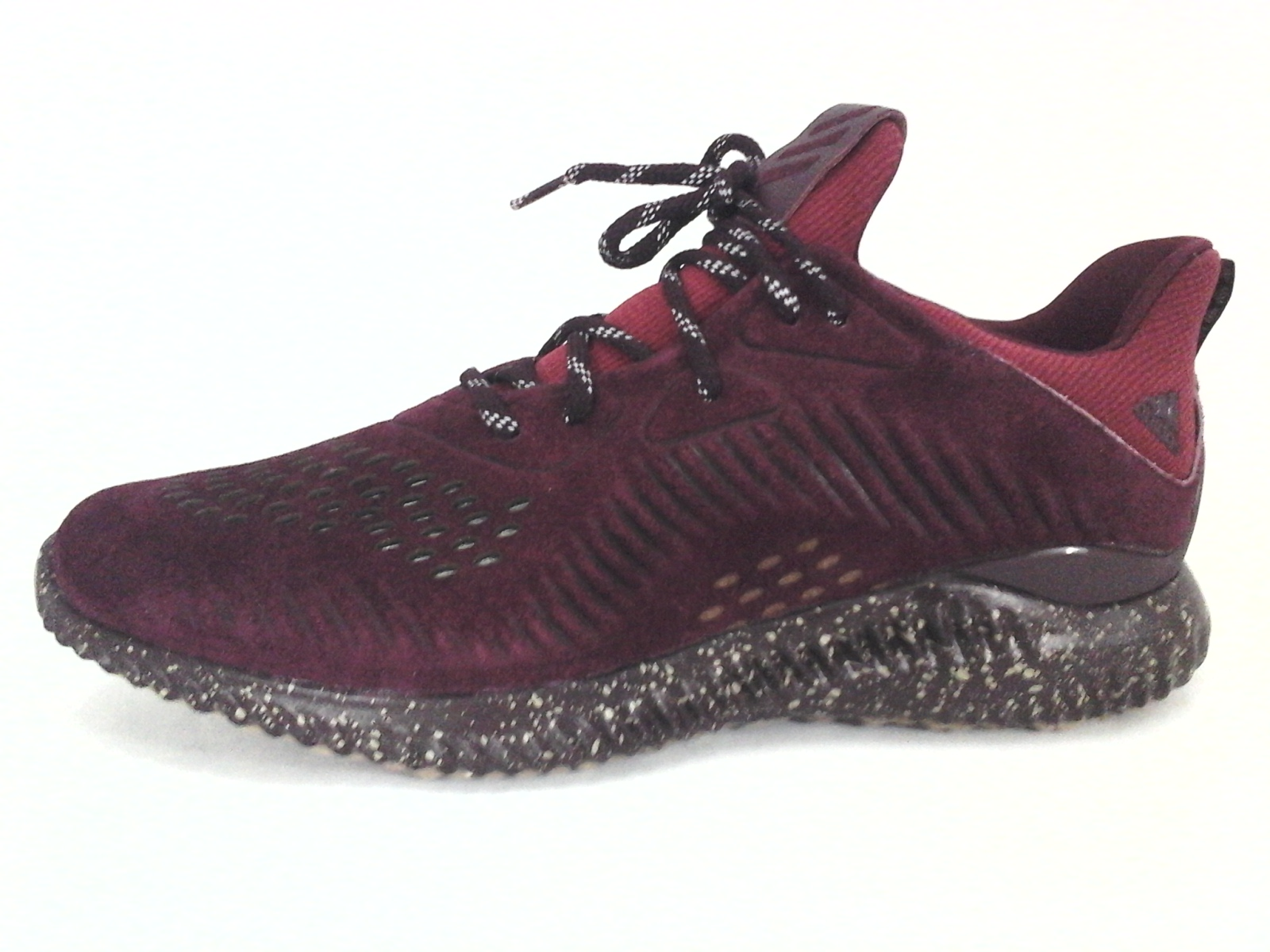 ADIDAS Alphabounce Shoes Sneakers Maroon Red Suede CQ1189 Mens US 13 EU 48  New 4350de084