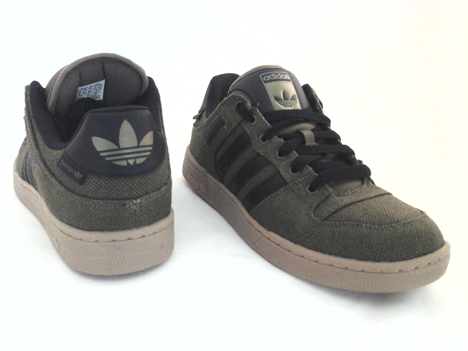 online store 2aba4 d251f Adidas Bucktown ST HEMP Olive GreenBlack w Gum Soles Sneakers Shoes AC6980