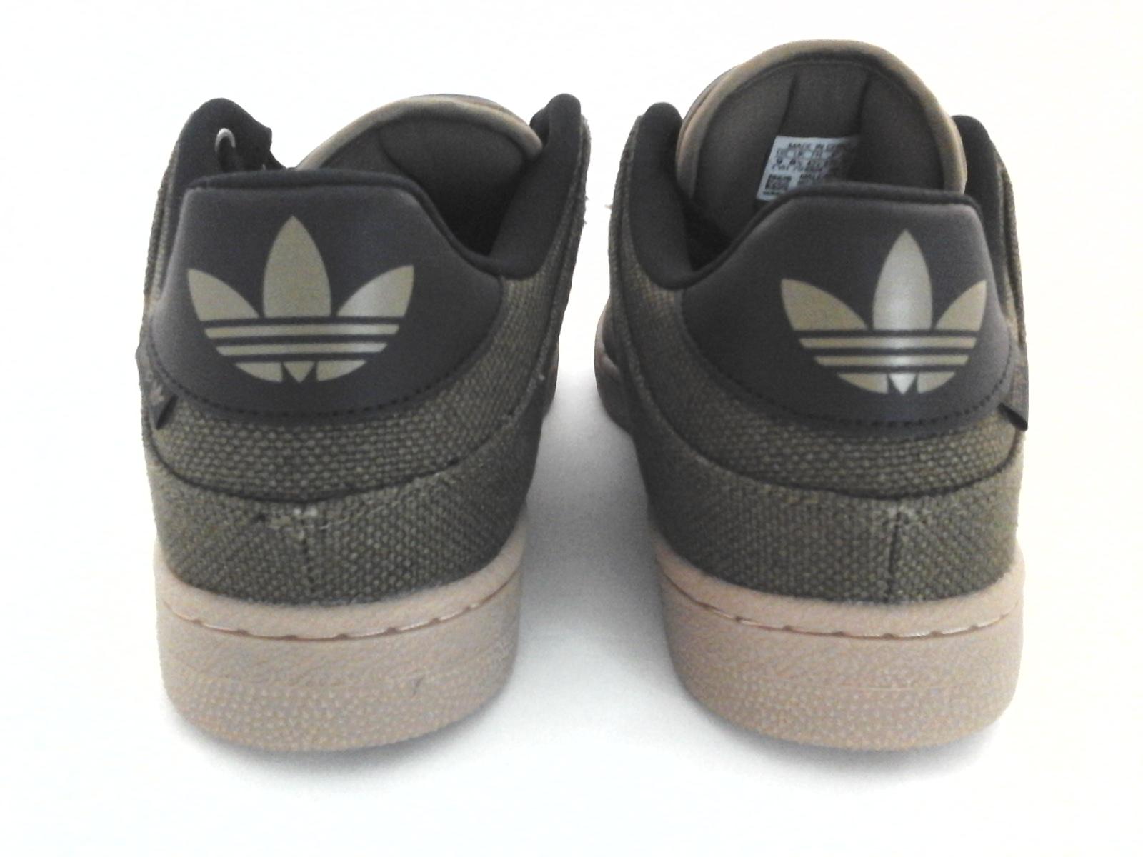 3d53fd5f8c4 Adidas Bucktown ST HEMP Olive Green Black w Gum Soles Sneakers Shoes AC6980