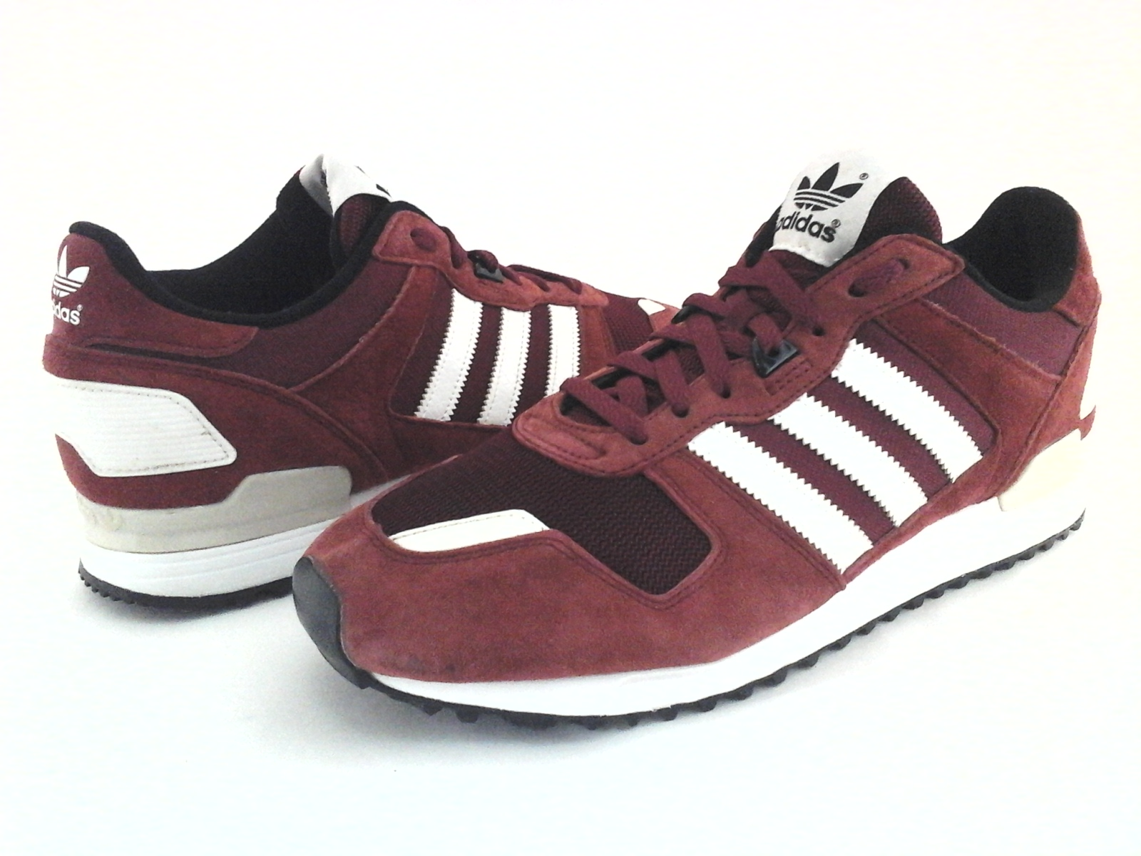 ADIDAS Originals Shoes ZX 700 Retro Suede Burgundy Sneakers B24840 Mens US 10/44