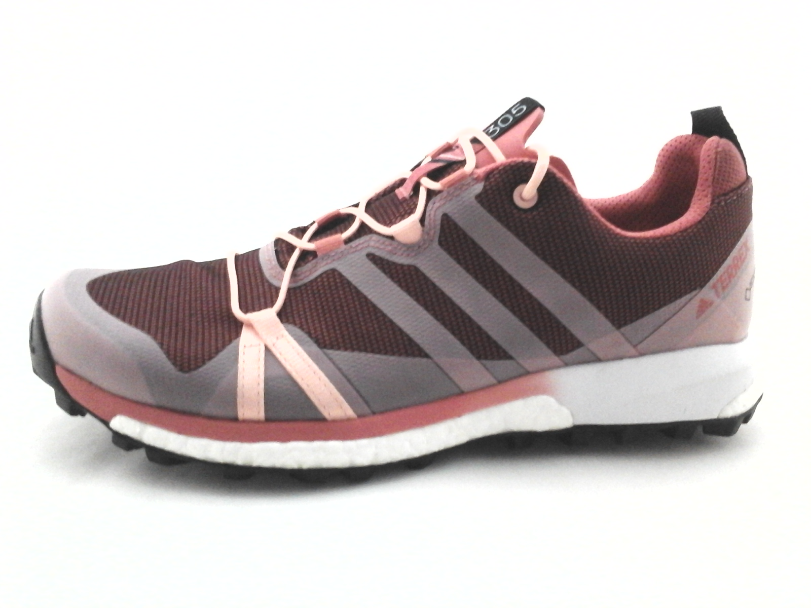 timeless design uk store best supplier Details about Adidas TERREX Agravic Boost 305 GTX Hiking Shoes Coral Pink  Gray BB0970 US 10