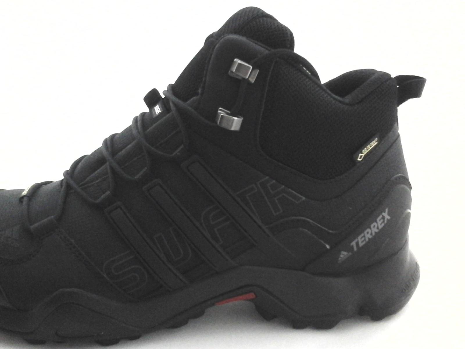 38d79b5b284 Adidas TERREX Hiking Boots Swift R Mid Black Gore-tex BB4638 US 11 EU 45  1 3 New