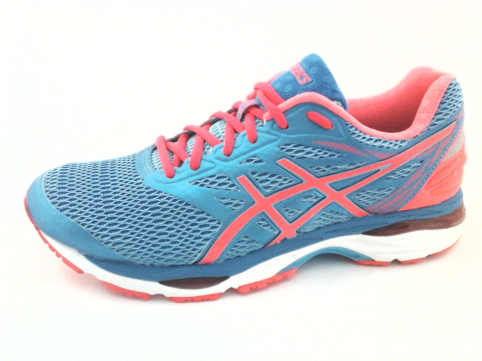 Nwob Asics Gel Cumulus 18 T6C8N Bluecoral Womens Sneakers Shoes