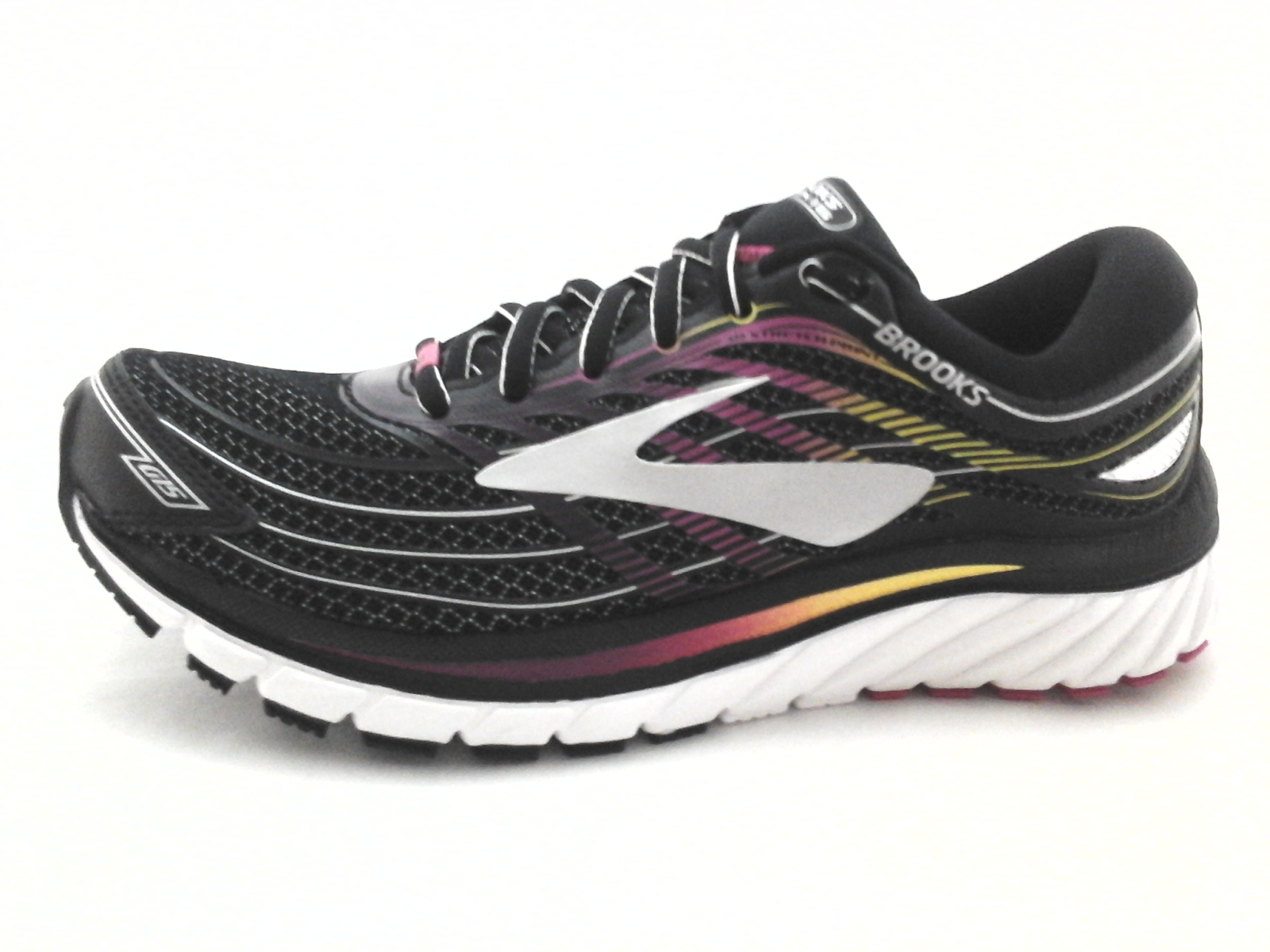 0f669749c9377 BROOKS Glycerin 15 Shoes Black Multi Running Sneakers DNA Womens US 6  36.5   150
