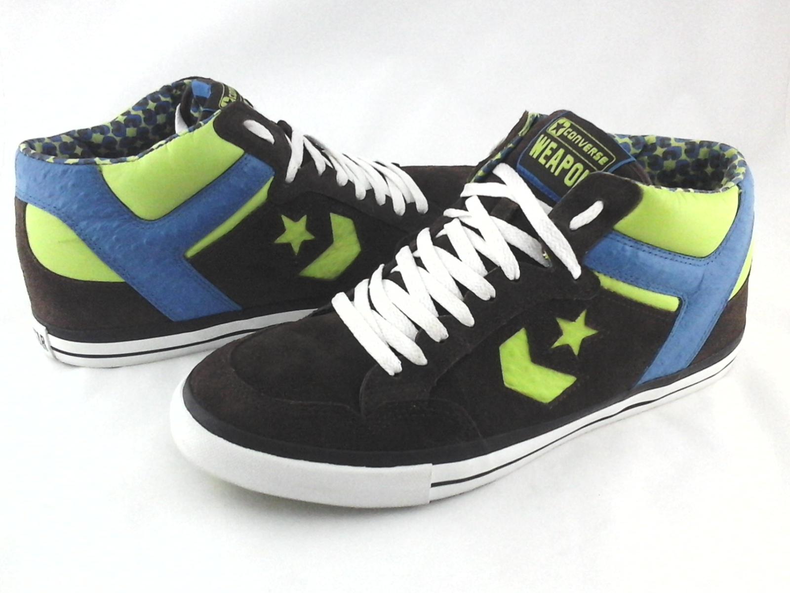 unique design good out x casual shoes Details about CONVERSE Weapon Sneakers Brown Suede w Blue/Green Shoes Mens  US 12 EU 46.5 RARE