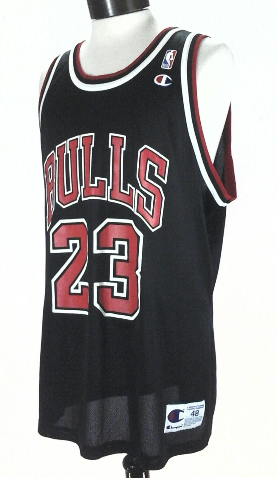 c04f2b0dca7 Details about JORDAN 23 Champion Jersey Chicago Bulls Basketball NBA Vintage  90's Men's 48 /XL