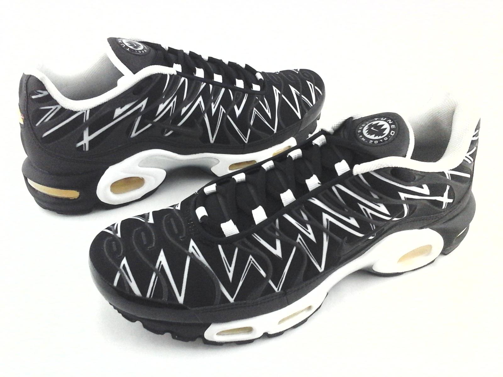 super popular bdd23 01f85 Details about NIKE AIR Max Plus Tuned TN The Shark Teeth AJ6311-001  Sneakers Mens US 10 EU 44