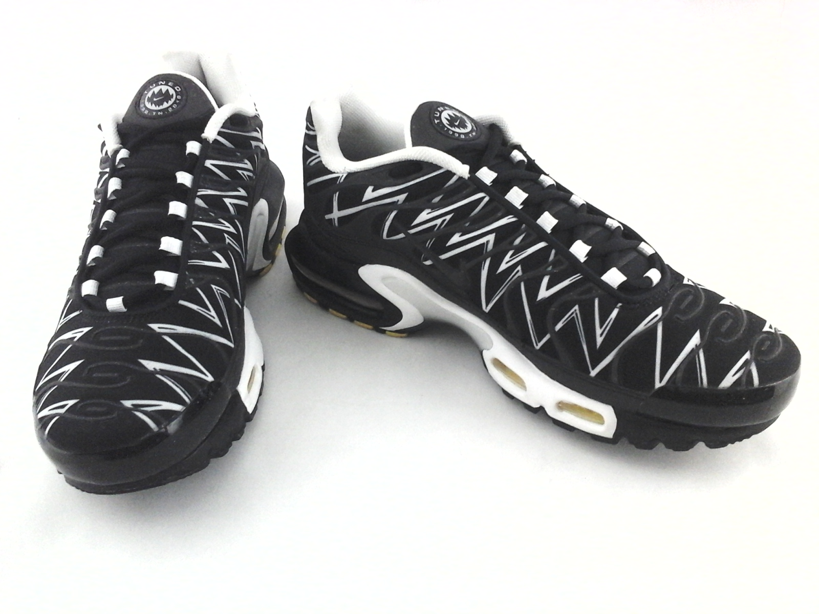 outlet store dd718 18dc9 Nike Air Max Plus Tuned Tn The Shark Tooth Aj6311 001 Shoes Mens