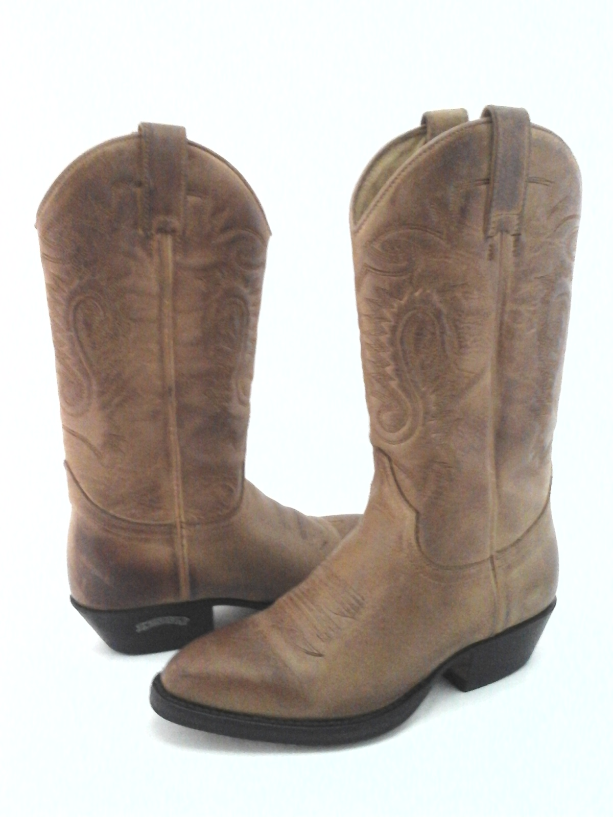 fc832e6683a SENDRA Cowboy Boots Tan Brown Leather Handmade in Spain Women's US 6 ...