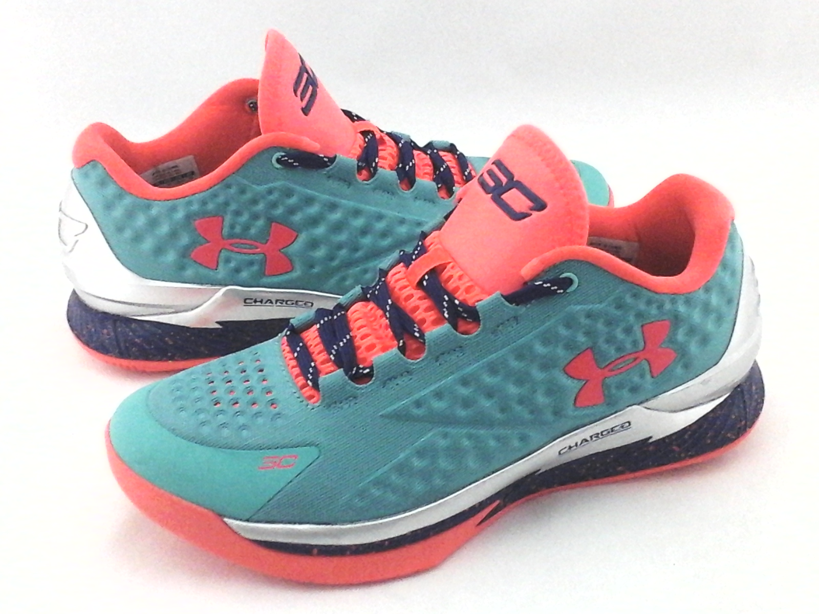 926a4a98e63544 Details about UNDER ARMOUR SC Sneakers Stephen Curry Green Multi 1276195  Shoes Mens US 8.5 42