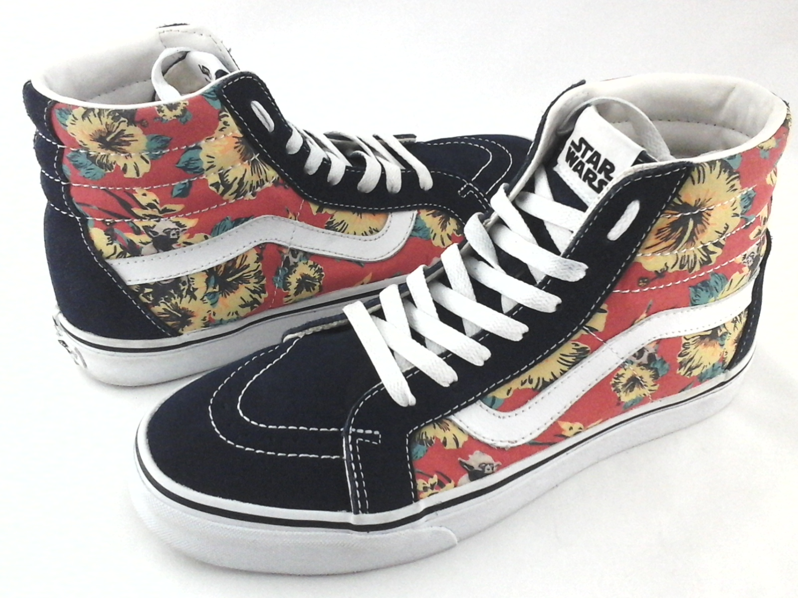 bbf4e4db485 Details about VANS x Star Wars S8-Hi Sneakers Yoda Aloha Floral Shoes Men s  US 9 Women s 10.5