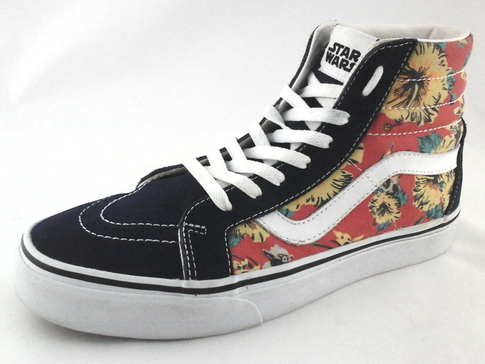 6695f42748ab96 VANS x Star Wars S8-Hi Sneakers Yoda Aloha Floral Shoes Men s US 9 Women s  10.5
