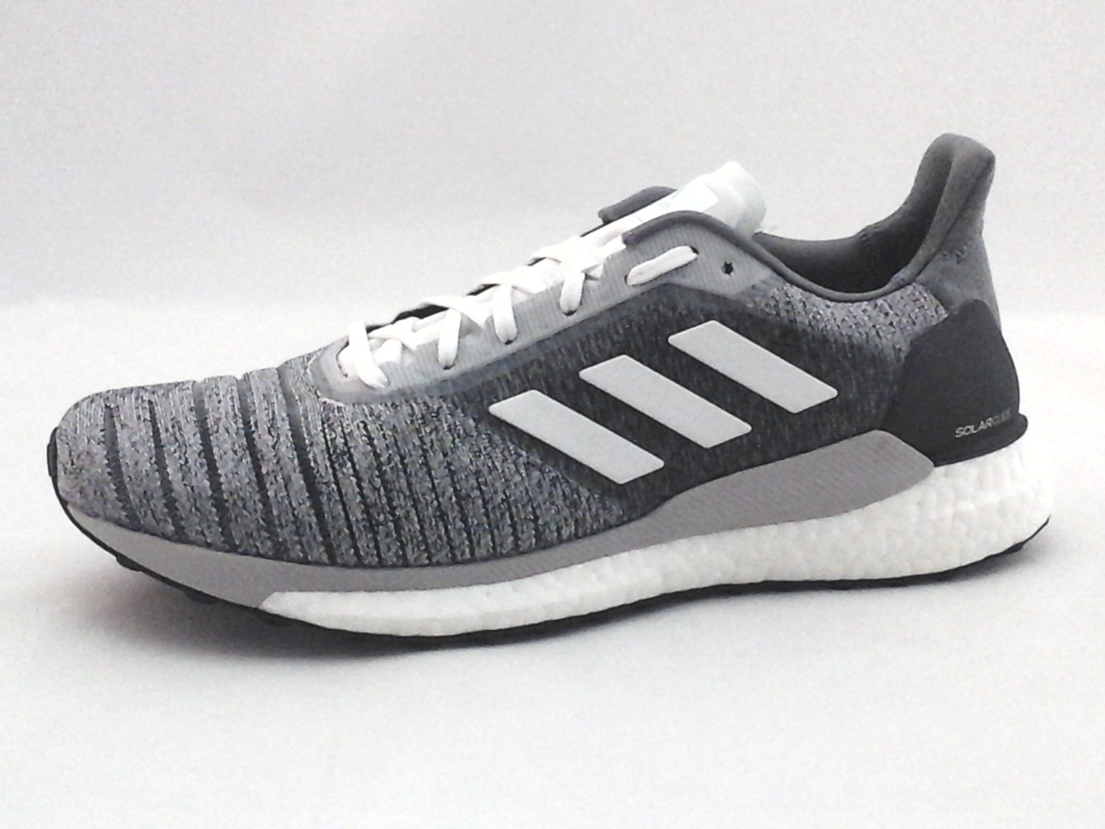 official photos 37ed2 3ceab Adidas Solar Glide Boost F34988 Gray Running Shoes Womens US 9  41 13  140 New
