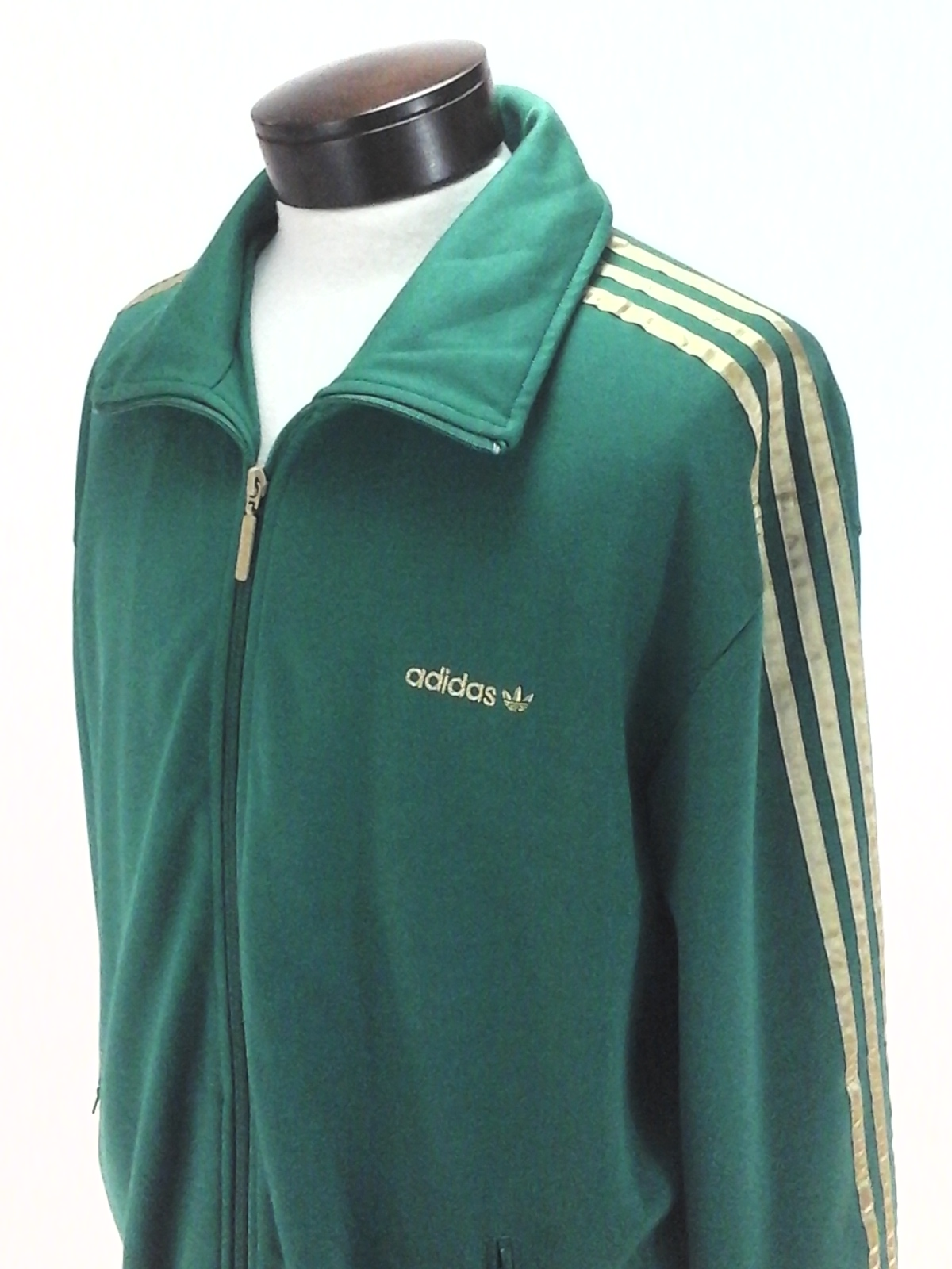 adidas originals polar fleece 1/4 zip track top