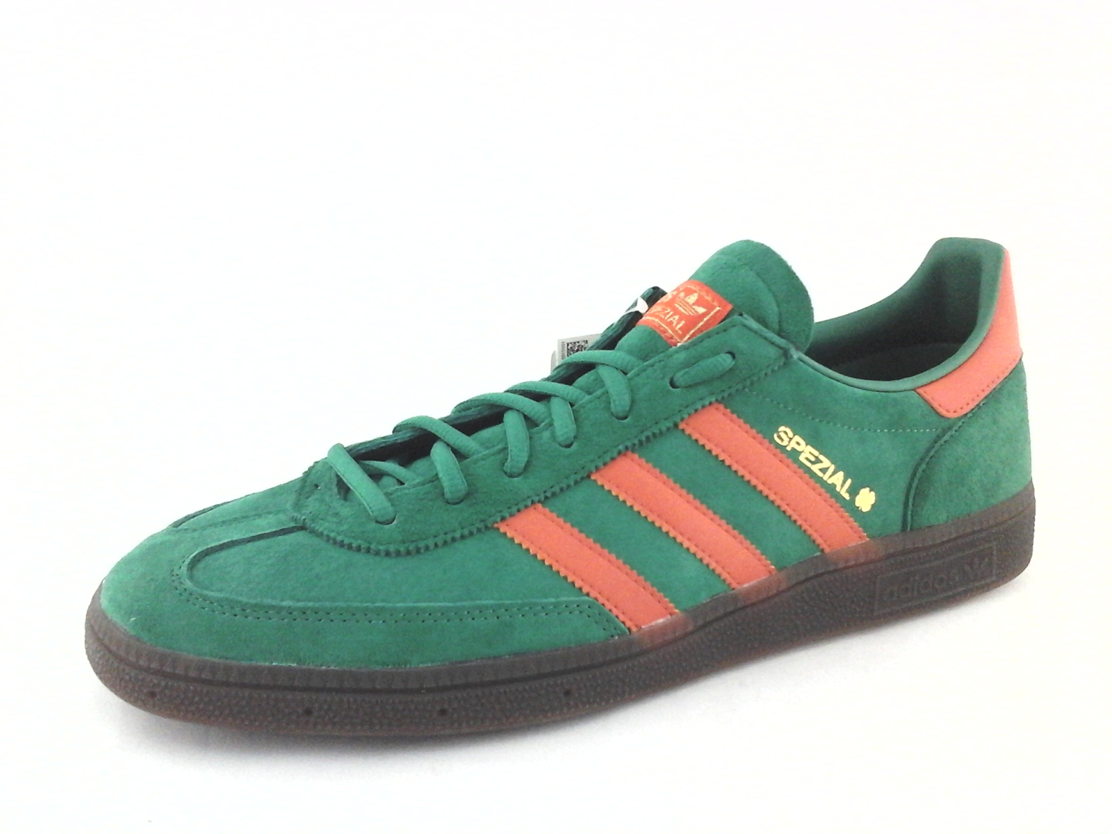 Adidas Handball SPEZIAL Green Red Suede Sneakers BD7620 Mens