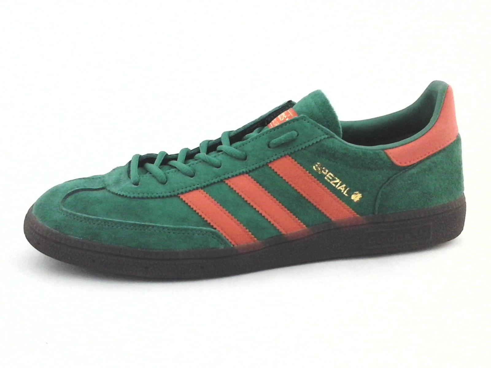 nuevo alto marcas reconocidas código promocional Adidas Handball SPEZIAL Verde Rojo Zapatillas De Gamuza BD7620 ...